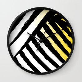Zesty Tiger Wall Clock