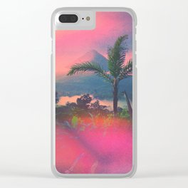 Volcan Arenal Clear iPhone Case
