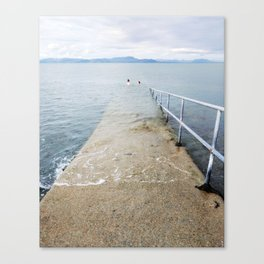 Irish Swim Canvas Print