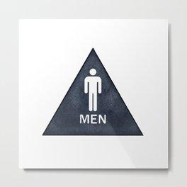Men Metal Print