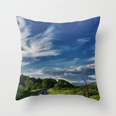 Around the Bend Throw Pillow