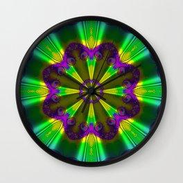 Silk Parasol Wall Clock