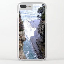 Devil's Kitchen Clear iPhone Case