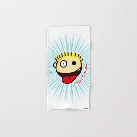The Sbirù - Just Smile... Hand & Bath Towel