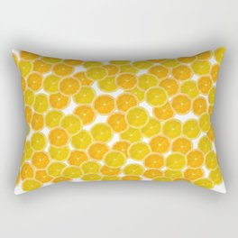 Citric orange fruits pattern Rectangular Pillow