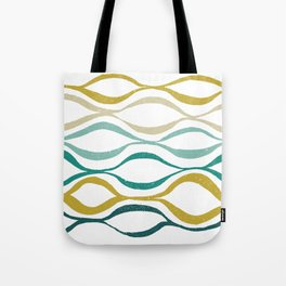 Catch the Wave (Jade) Tote Bag