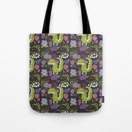Dino burgundy Tote Bag