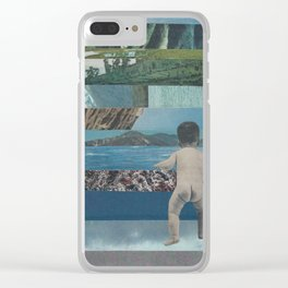 Don`t grow Clear iPhone Case