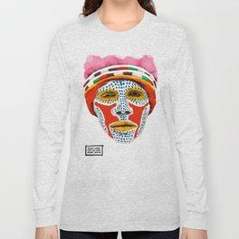 Goroka Dancer Long Sleeve T-shirt