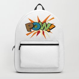 Comic Book Pop Art Sans POW! Backpack