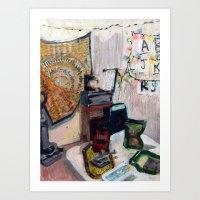 539 South, No. 01. Art Print