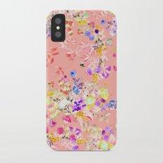 Soft bunnies pink iPhone X Slim Case