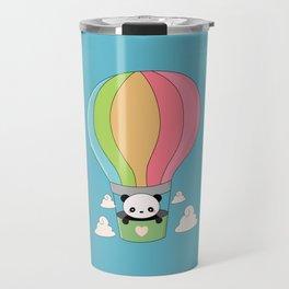 Kawaii Panda Bear Hot Air Balloon Travel Mug