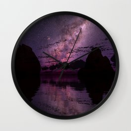 The Distant Lights Wall Clock