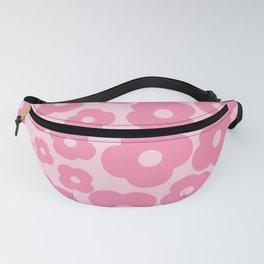 wild flowers pink pattern Fanny Pack