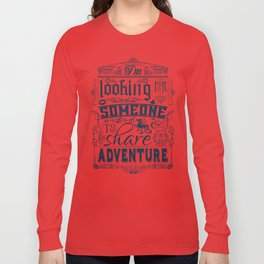 Help wanted Long Sleeve T-shirt
