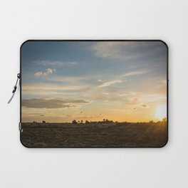 Ocaso en la marisma Laptop Sleeve