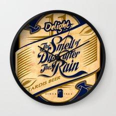 TARDIS Beer Wall Clock