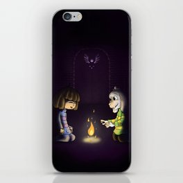 Frisk and Asriel iPhone Skin