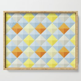 Abstract Pattern Serving Tray