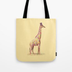 Fashionable Giraffe Tote Bag