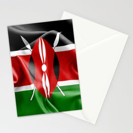 Kenya Flag Stationery Cards