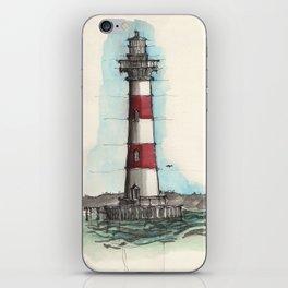 Morris Island Lighthouse iPhone Skin