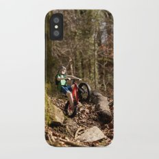 Where we're going we don't need roads iPhone X Slim Case