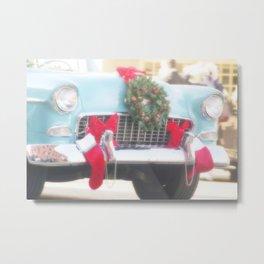 Holiday Cruisin' Metal Print