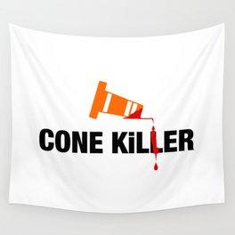 Cone Killer v2 HQvector Wall Tapestry
