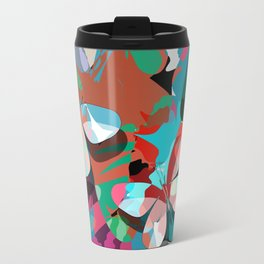 Butterfly abstract design Travel Mug