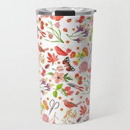 Red Repeat Gardening Travel Mug
