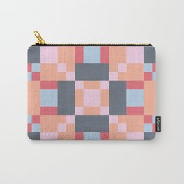 Native Patchwork Pixel Carry-All Pouch