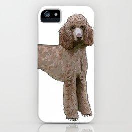 Elegant Poodle iPhone Case