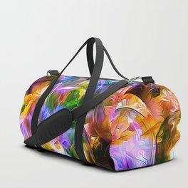 colorful bubbles Duffle Bag