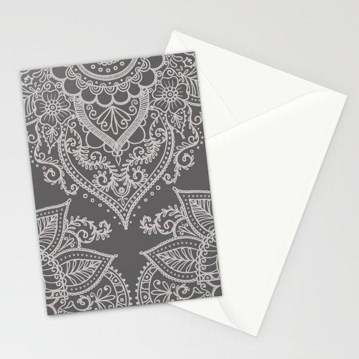 BOHO ORNAMENT 1C Stationery Cards