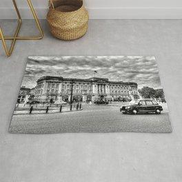 Buckingham Palace London sketch Rug