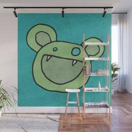Slightly Amused Monsters, V Green Wall Mural