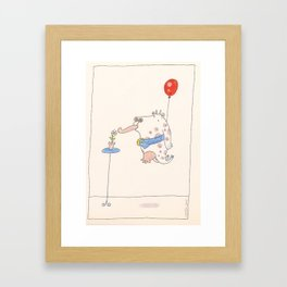 The Clever Cow 1 Framed Art Print