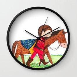 Sad Prince Wall Clock
