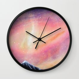 Lila-cosmic play Wall Clock