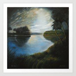 River Muse Art Print