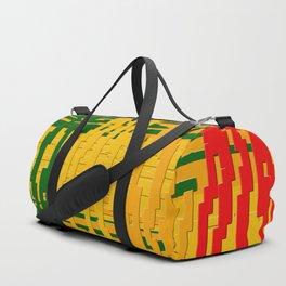 Crayon Invaders Duffle Bag