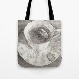 Teacup Octopus Tote Bag