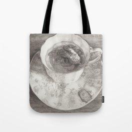 Teacup Octopus Tote Bag