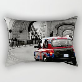 London Union Jack Taxi. Rectangular Pillow