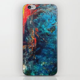 Flame of the Forest iPhone Skin
