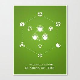Zelda Ocarina of Time Canvas Print