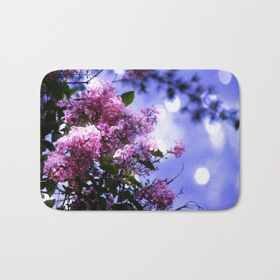 Lilac Sparkle Bath Mat