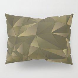 Bronze Abstract Pillow Sham
